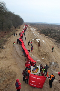 Rote Linie 19.02.2017 hambacher Forst