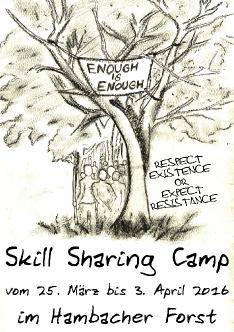Skill Sharing Camp 2016