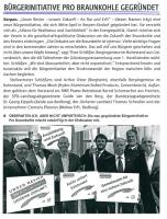 RWE Postwurfsendung 'Zukunft im Revier'